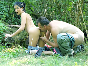 Teen Sex in the Woods